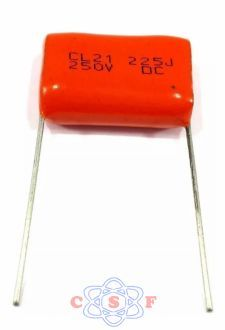 Capacitor Poliester 2,2uf x 250Volts Usado Super Tweeter