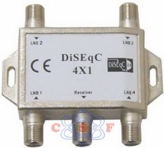 Chave DiSEqC 4x1 Frequencia 950-2400