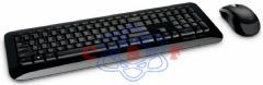Kit Teclado e Mouse Wireless Desktop 800 Preto Microsoft