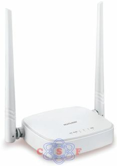 Roteador Wireless Multilaser RE-160 300Mbps com 2 Antenas fixas 3 portas