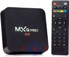 TV Box MXQ Pro 4k HD com HDMI/USB/Wi-Fi OS Android Bivolt